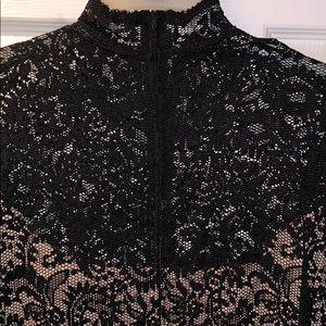 Bisou Bisou Dresses - BISOU BISOU MICHELE BOHBOT LACE DRESS